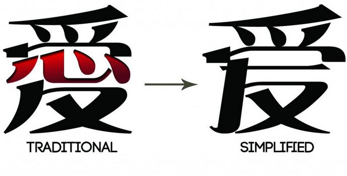 Tiếng Trung Quốc (Tiếng trung Giản Thể) và tiếng Đài Loan (Tiếng Trung Phồn thể) khác nhau như nào?