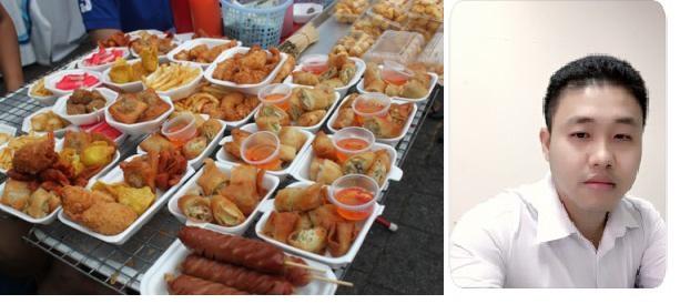 Từ vựng tiếng Trung về các món ăn vặt tại Việt Nam