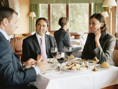Mời ăn bàn công việc bằng tiếng trung!