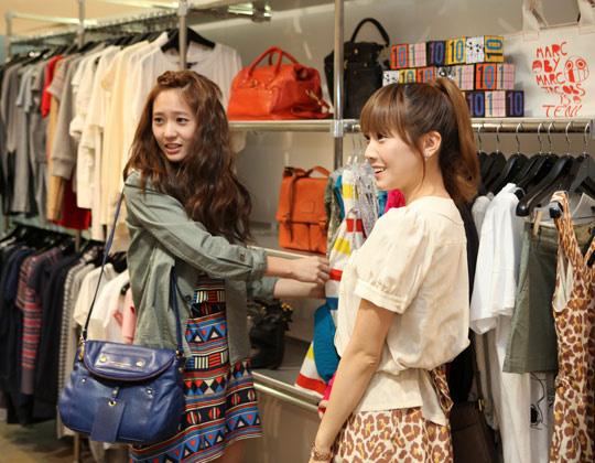Lựa chọn đồ khi mua sắm bằng tiếng trung!
