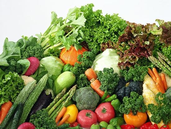 [Tiếng Trung Phồn Thể] Từ vựng về các loại rau ăn!
