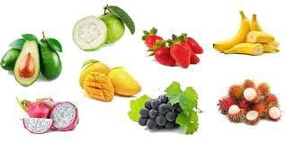 Từ vựng về các loại hoa quả trong Tiếng Trung