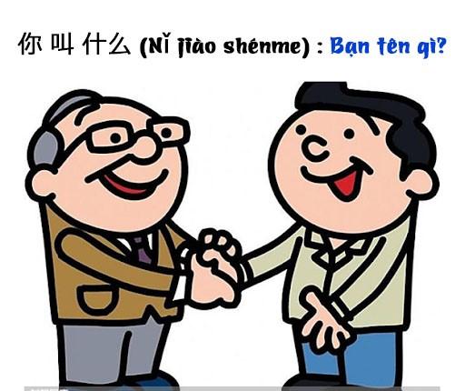 """Cách hỏi """"Bạn tên gì?"""" trong tiếng Trung"""