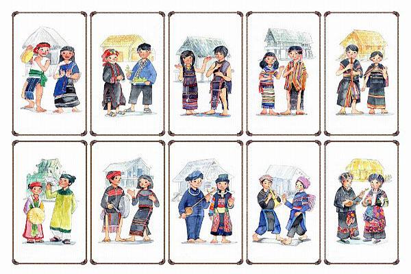 Tên gọi dân tộc Việt Nam bằng tiếng Trung