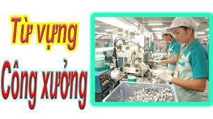 Từ vựng tiếng Trung trong công xưởng