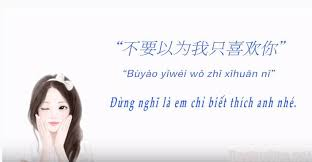 Những caption hay bằng tiếng Trung