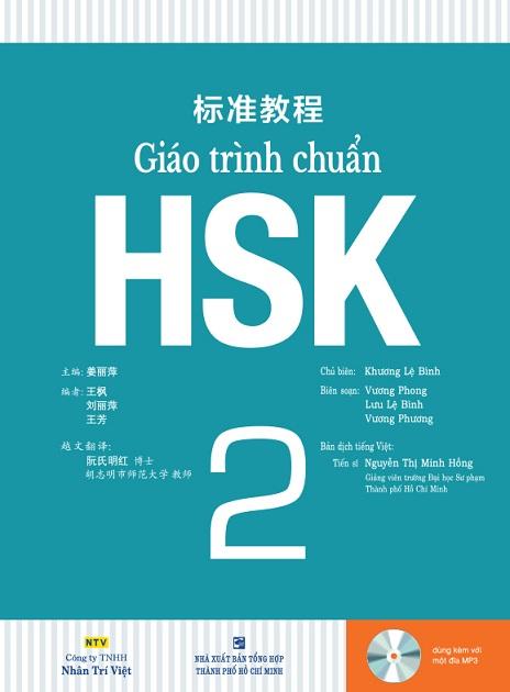 Bài giảng chuẩn HSK 2 tiếng trung